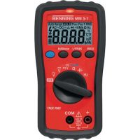 BENNING Multimeter MM 5-1 0,1 mV-600 V AC/DC TRUE RMS BENNING