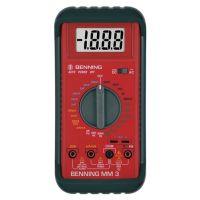 BENNING Multimeter MM 3 0,1 mV-600 V AC/DC RMS BENNING