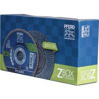 PFERD Fächerscheibe POLIFAN Z BOX D.125mm K.Z-40 kon.INOX ZK 10er Box PFERD