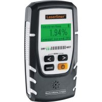 LASERLINER Holz-/Baufeuchtemesser MoistureMaster Compact 0-40GradC/LF 60% LASERLINER