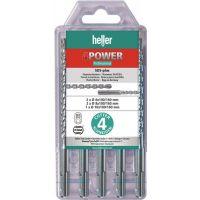 HELLER Hammerbohrersatz 4Power 5-tlg.SDS-plus SB Pk.HELLER