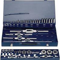 PROMAT Gewindeschneidzeugsatz M3-M20 54tlg.HSS Metallkassette PROMAT
