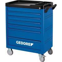 GEDORE Wkz.wagen WSL-L-TS-308 workster B785xT510xH1045mm 400 kg 7 Schubl.Stahlbl.GEDORE