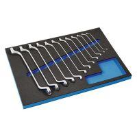 PROMAT Werkzeugmodul 12-tlg.3/3-Modul Schlüsswelweiten 6x7-30x32mm PROMAT