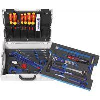 PROMAT Werkzeugsortiment Sanitär 40-tlg.L-Boxx PROMAT