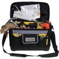 STANLEY Werkzeugtasche zahlr. Innen-/Außentaschen verstellb. Schultergurt 447x251x262 mm