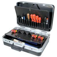 PROMAT Schalenkoffer B460xT165xH310mm ca.24l ABS-Ku.21 Einst.fächer PROMAT
