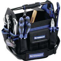 PROMAT Werkzeugtasche B.230xT.310xH.350mm Nyl. 1680D wasserresistent PROMAT