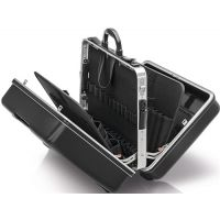 KNIPEX Schalenkoffer BIG Twin Innen-B445xT350xH105+105mm ABS-Ku.Alu KNIPEX