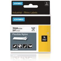 DYMO Schriftband Band-B.12mm Band-L.5,5m Vinylband schwarz auf weiß DYMO
