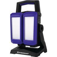 PROMAT LED-Strahler 50 W 800-4500 lm Li-Ion 5200 mAh 14,8 V IP54 PROMAT
