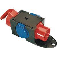 Kompaktverteiler CEE-16 A,5-polig 1xCEE 16 A,2x230V