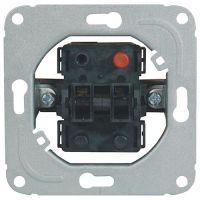 Serienschalter 10 A 250/50V/Hz o.Wippe/Abdeckrahmen Unterputz
