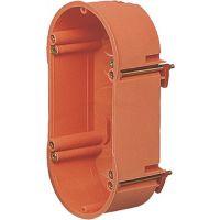 Hohlwandschalterdose D.2x68mm 47mm orange Schraubenabst.60mm S.7-35mm