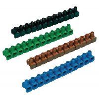 Dosenklemmleiste 400 V Klemmber.2,5-6 mm² 12-polig sortiert