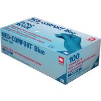 AMPRI Einweghandschuhe Med Comfort Blue