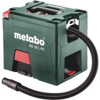 METABO Akkusauger AS 18 L PC 18 V 2100l/min 120mbar 7,5l METABO