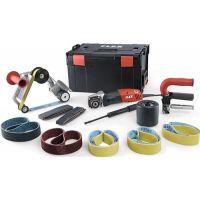 FLEX Satiniermaschine Trinoxflex BSE 14-3 Inox Set 1400W 125mm 1000-3500min-¹ FLEX
