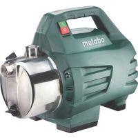 METABO Gartenpumpe P 4500 Inox 4500 l/h 48m 4,8bar 1300W VA 25,4mm (1Zoll) IG METABO