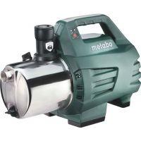METABO Gartenpumpe P 6000 Inox 6000 l/h 55m 5,5bar 1300W VA 25,4mm (1Zoll) IG METABO