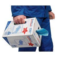 KIMBERLY-CLARK Putztuch WYPALL X 60 8380 L420xB245ca.mm blau Krt.