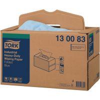 TORK Putztuch TORK 130083 L324xB385ca.mm blau 3-lagig,geprägt Krt.TORK