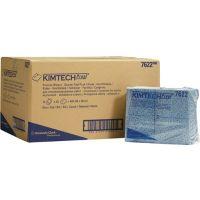 KIMBERLY-CLARK Prozesswischtuch KIMTECH 7622 L381xB490ca.mm blau 12 Btl.à 35 Tü.