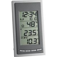 TFA Funkthermometer Messber.auß.-40 b.60GradC/in.-10 b.60GradC H144xB81xT66mm Ku.