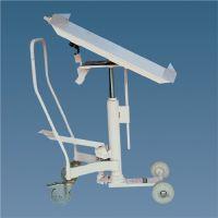 BAKA Hubtisch m.Neigevorrichtung Trgf.400kg Hub 600-960mm Tisch-L650xB650mm