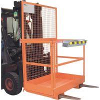 BAUER Arbeitsbühne B1200xT1115xH1890mm gelborange lack.Trgf.300kg