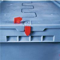 BITO Einwegplombe rot f.Stapelbehälter m.Klappdeckel 500 St./Beutel