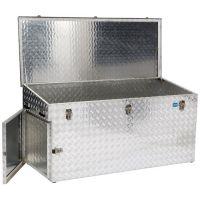ALUTEC Transportbox Außen-L1700xB700xH750/850mm 883l Alu.Riffelblech