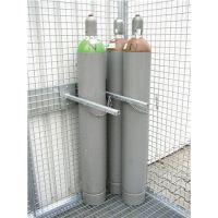 BAUER Haltevorrichtung f.Gasflaschen f.Gasflaschen D.220mm verz.m.Kettensicherung