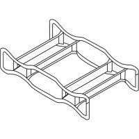 SÄBU Fasspalette verz.stapelbar f.2 x 200-l-Fass