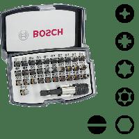 BOSCH 32-teilige Bitsets mit Extra Hart-Schrauberbits