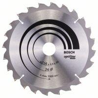 BOSCH Kreissägeblatt Optiline Wood für Kapp- und Gehrungssägen, 216 x 30 x 2,0 mm, 24