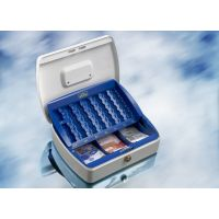BURG-WÄCHTER OB-Geldzählkassette, mit Einsatz, Office ZK 2257 EURO, Stahlblech weiß, 28730