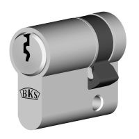 BKS Profil-Halbzylinder 8891, Messing