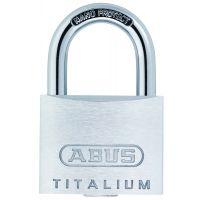 ABUS Zylindervorhangschloss Titalium 64, TITALIUM™-Spezialaluminium