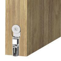 ATHMER Schiebetürdichtung Schall-Ex® Slide&Lock M-12 WS, Silikon