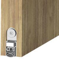 ATHMER Schiebetürdichtung Schall-Ex® Slide&Lock M-20 WS, Silikon