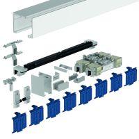 DORMA Schiebetürbeschlag MUTO Premium XL 150, Deckenmontage, Aluminium