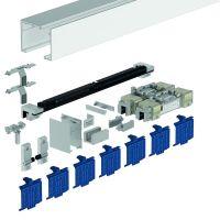 DORMA Schiebetürbeschlag MUTO Premium XL 80, Deckenmontage, Aluminium