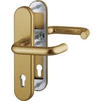 HOPPE® Schutz-Drückergarnitur mit Langschild Paris 138/3331/3310, 10/92 mm, Aluminium