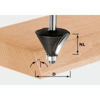 Festool Fasefräser HW S12 D55/20/45°