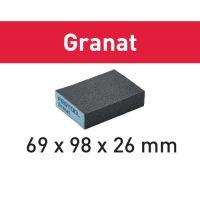 Festool Schleifblock 69x98x26 220 GR/6 Granat