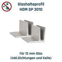 Hygieneschutzwand Montageset - für bauseitige Scheibe