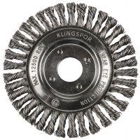 KLINGSPOR Pipelinebürste, gezopfter Draht BRP 600 Z