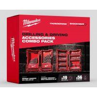 MILWAUKEE HSS-G Metallbohrer & SHOCKWAVE Bits-Set, 75-teilig