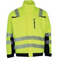 PREVENT TRENDLINE Warnschutzpilotenjacke Prevent® Trendline Gr.L gelb/schwarz